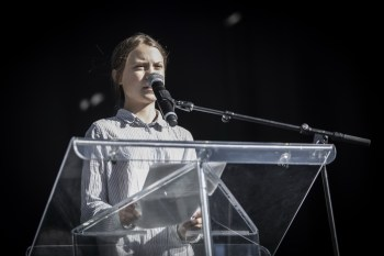 Greta Thunberg, Climate Action Day March in Montreal, NVP Images/ Pooyan Tabatabaei