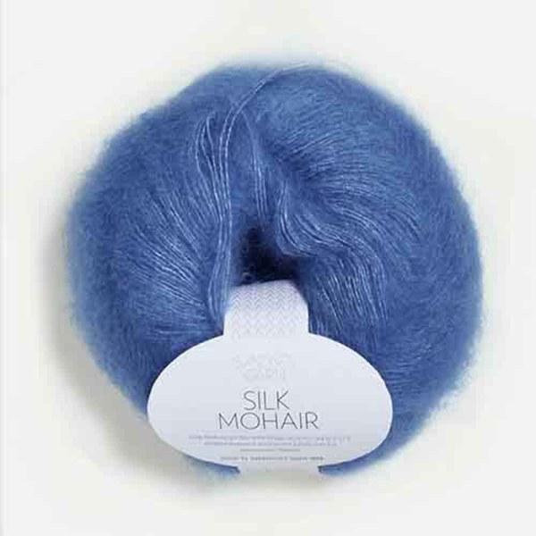 kjøp silk mohair fra sandes garn hos titt inn garn her
