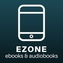 "digital drawing of a smartphone captioned ""ezone ebooks and audiobooks"""