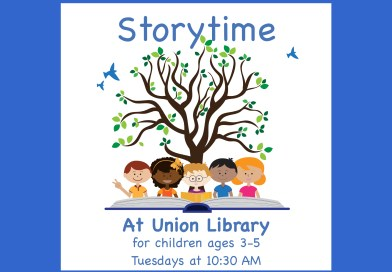 Storytime at Union Library