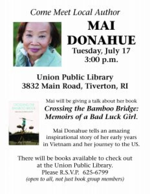 mai donahue author talk