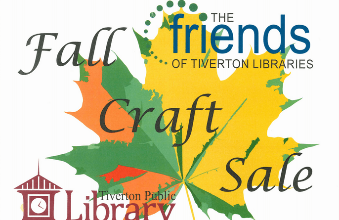 fall craft sale friends of the tiverton library
