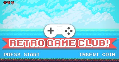Retro Game Club in December