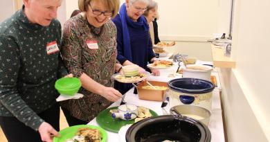 Cookbook Club featured in the Newport Daily News