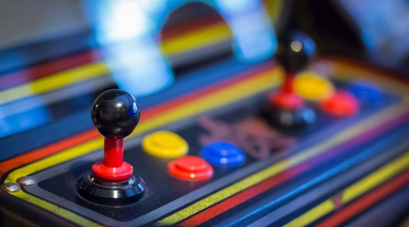 arcade machine controls