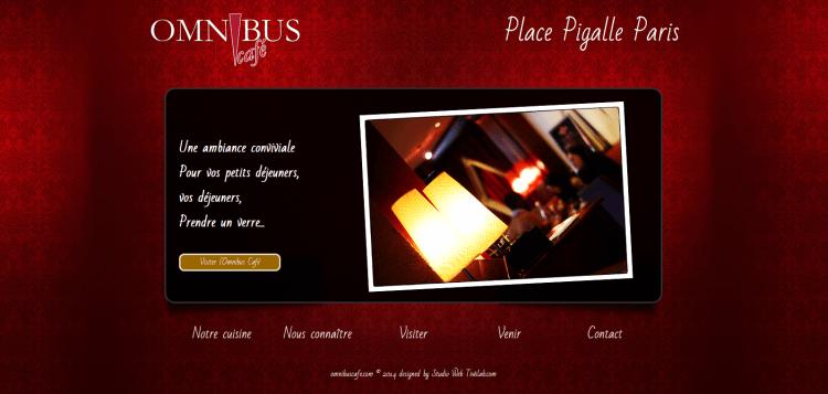 Brasserie - OMNIBUS Café - Pigalle - Paris