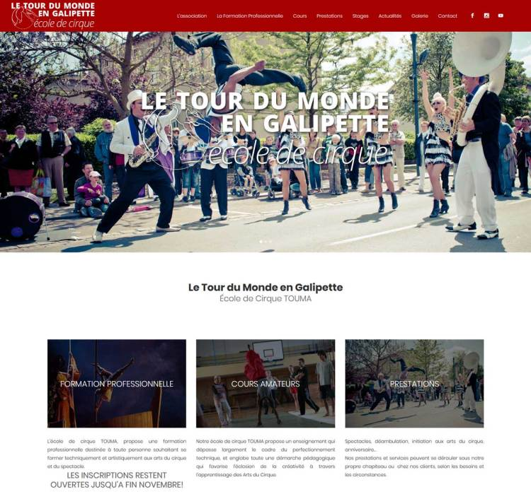 Ecole de Cirque – LTMG