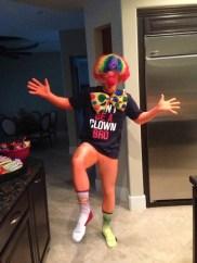 Bryce Harper embracing the clown question bro