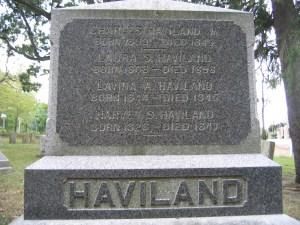 Haviland Grave