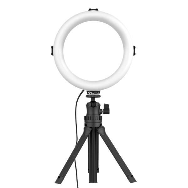 VIJIM K9 RGB LED Ring Light With Extendable Tripod Stand india tiyana 20
