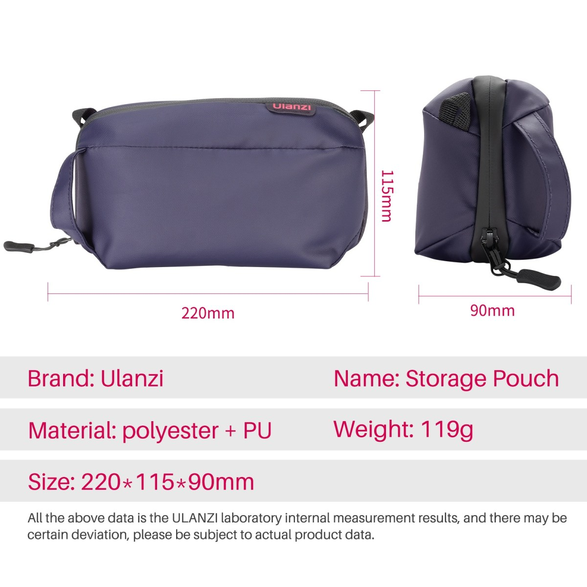 Ulanzi 2573 SP-01 Pouch for Camera Vlogging Gear india tiyana 9