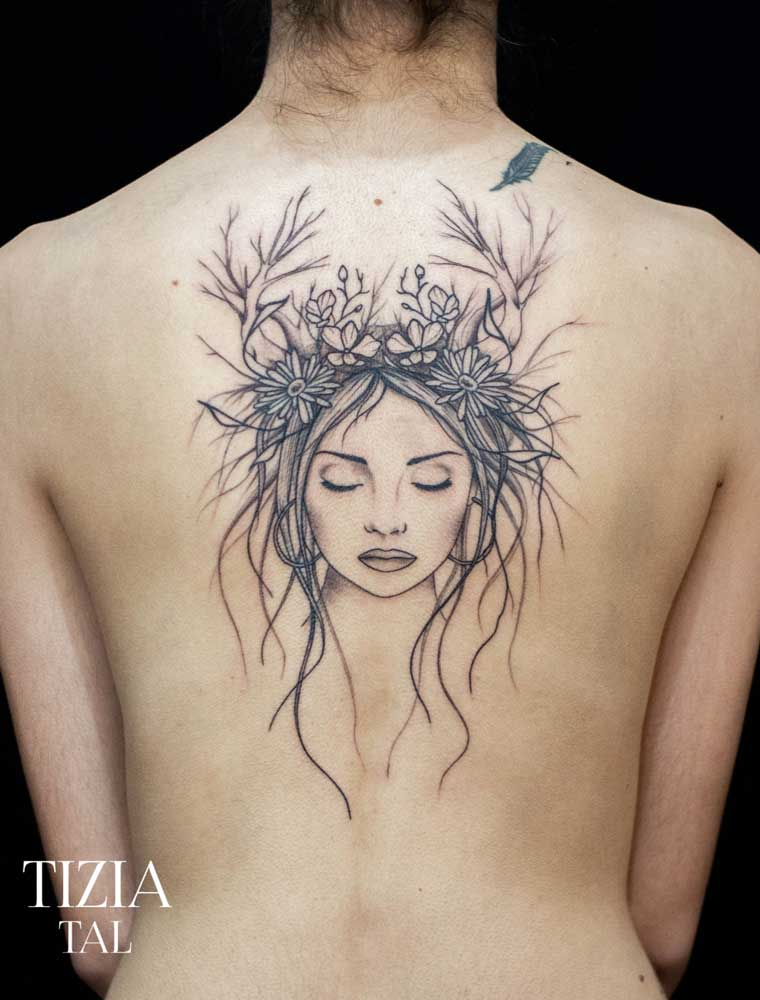 tattoo-dos-femme-visage-femme-nature-toulouse
