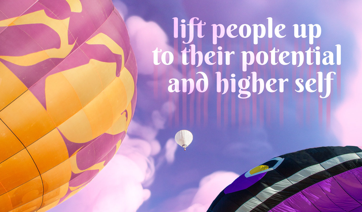 daily inspirational quote image: three hot air balloon soaring