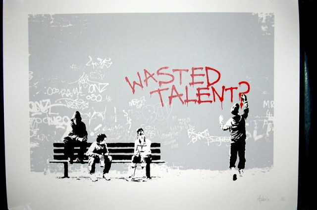Are You Wasting Your Talent? | Tizzime