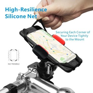Tizzime Bicycle/Motorcycle Cell Phone Mount, Holder