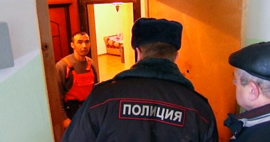 Дар шаҳрҳои Русия ба тозакунии муҳоҷирони меҳнатӣ шурӯъ намуданд