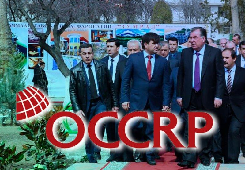 OCCRP бизнеси навбатии клани Раҳмонро кашф намуд