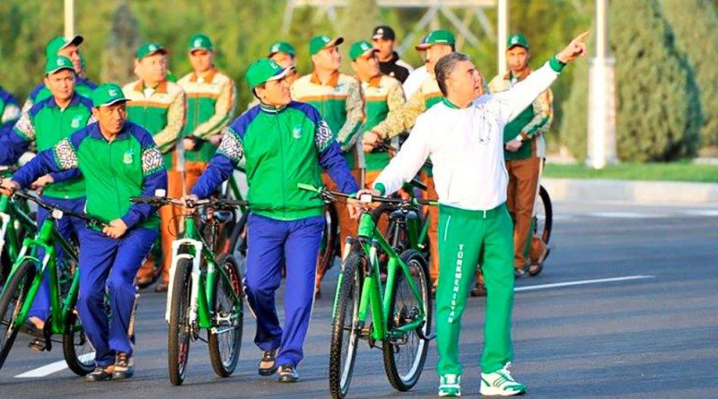 Туркманистон: Рӯзи қолин ва рӯзи велосипед