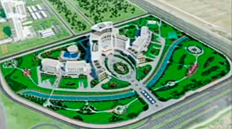 Туркманистон: меҳмонхона ба маблағи 448$ млн