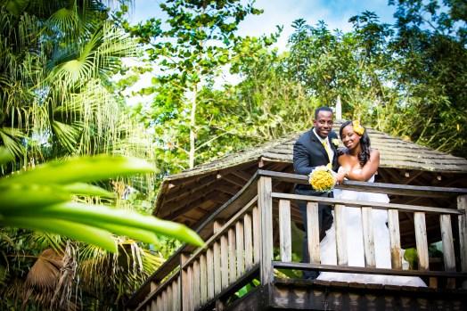 Struan Castle Garden Jamaica Wedding