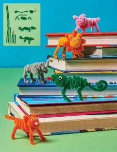 Pipe Cleaner Reading Buddies http://www.scholastic.com/teachers/article/craft-reading-buddies