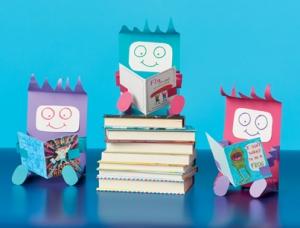 Reading Buddies http://www.scholastic.com/teachers/article/crafts-summer-reading-buddies