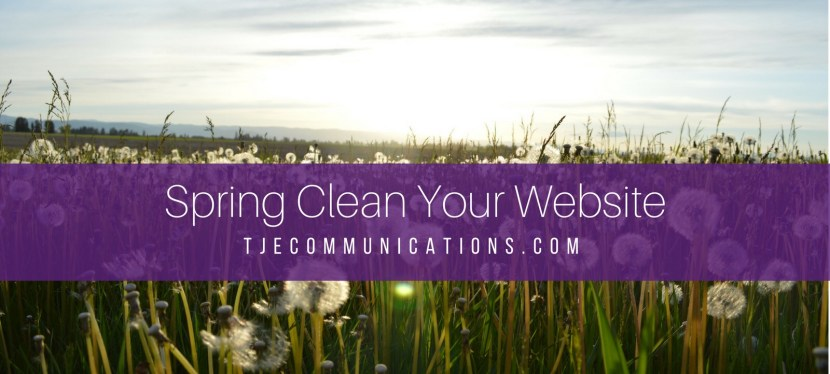 Spring Clean Your Website