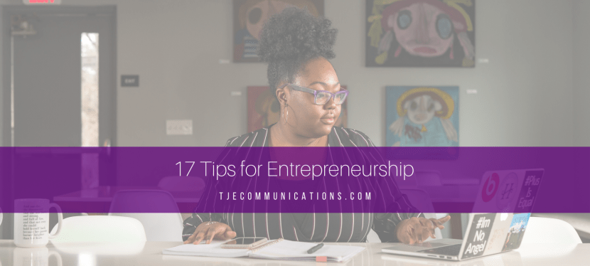 17 Tips for Entrepreneurship
