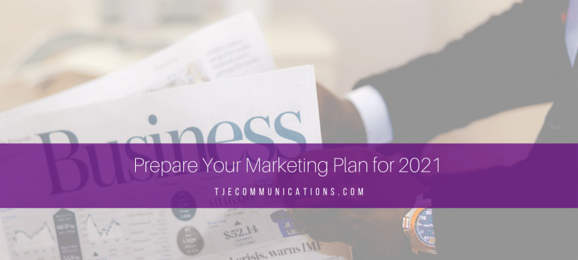Prepare Your Marketing Plan for 2021