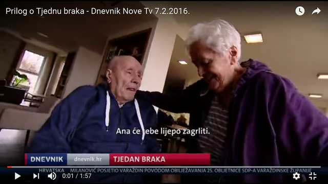 Dnevnik Nova TV – Tjedan braka 2016