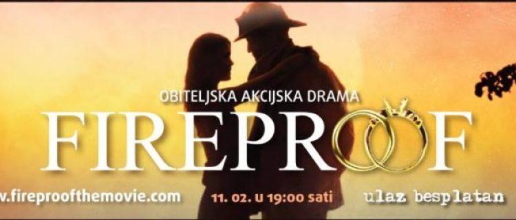 "Zagreb, Projekcija filma ""Fireproof"" 11.2.2017."