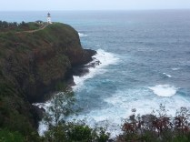 Same lighthouse. Many birds nest in the surrounding cliffs.