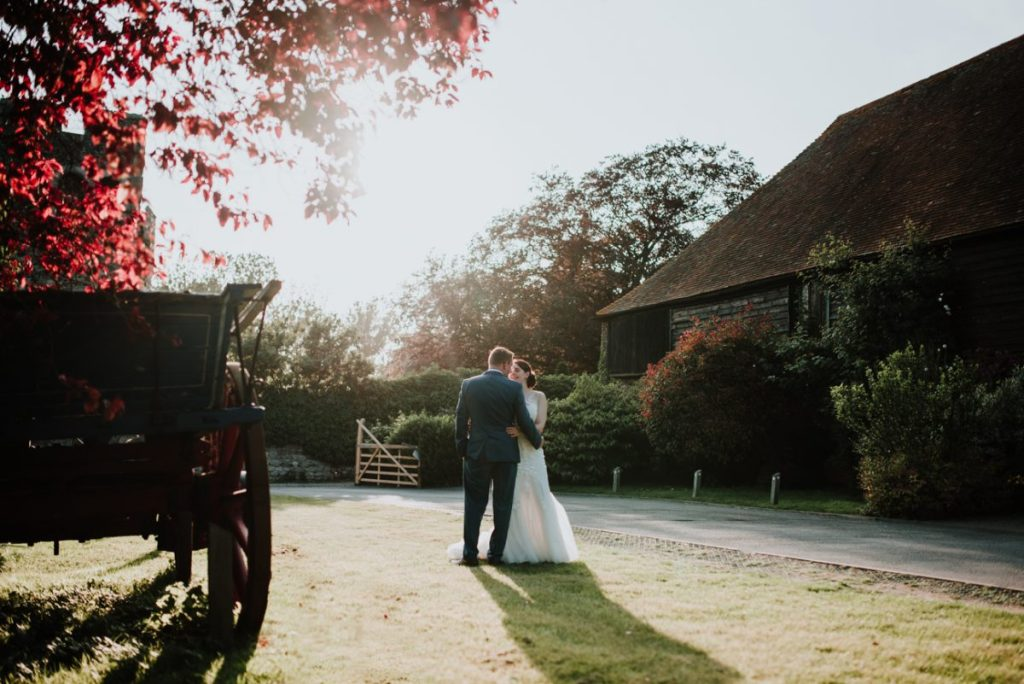 Cooling castle barn wedding
