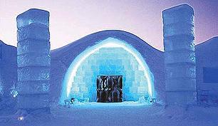 The Ice Hotel, Jukkasj�rvi, Sweden