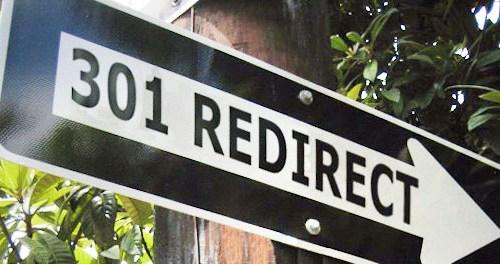 301 Redirect.