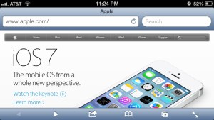 Apple Website Responsive: iPhone screenshot 3.