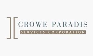 Client: Crowe Paradis Services Corporation.