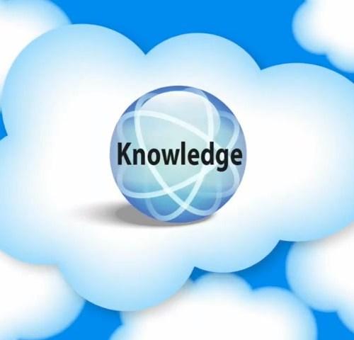 Salesforce Knowledge Base design & UX.