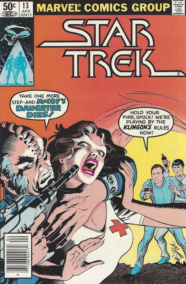 Star Trek #13 Cover
