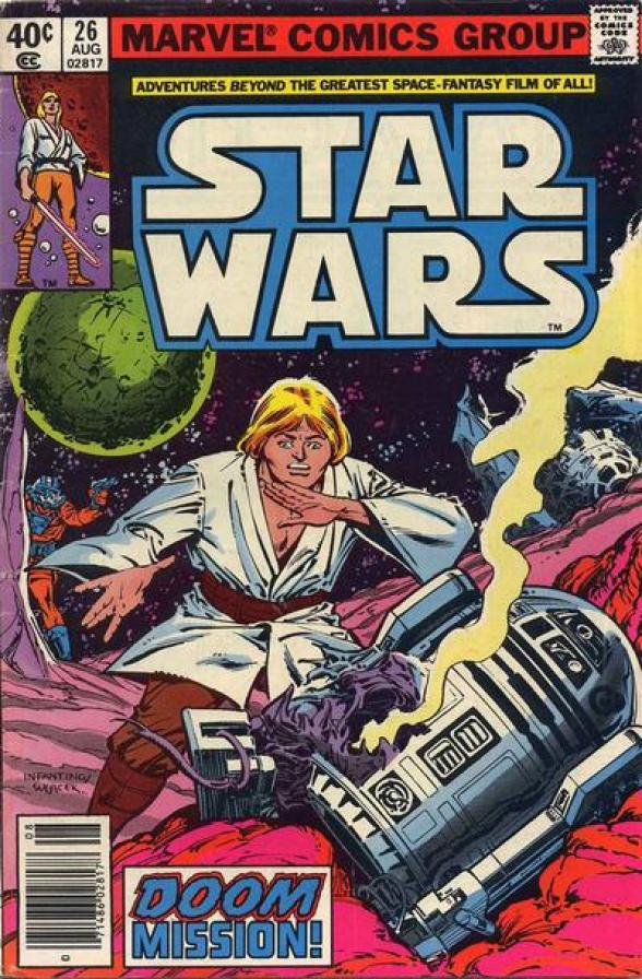 Cover to Star Wars #26