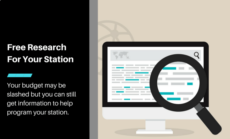 How To Get (Nearly) Free Research For Your Show or Station