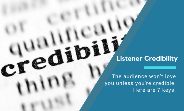 7 Ways to Gain Listener Credibility