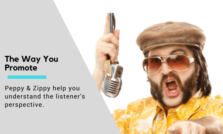 Here's How The Audience Hears The Way You Promote [audio]