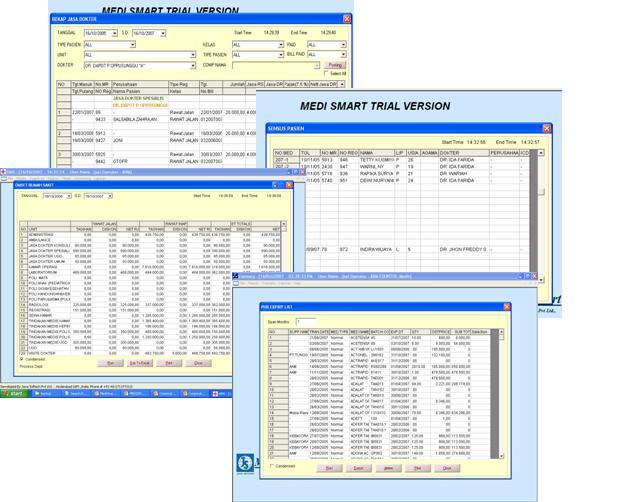 MEDISMART (Sistem Informasi Rumah Sakit,Sistem Informasi Rumah Bersalin,Sistem Informasi Klinik dan Sistem Informasi RSIA)