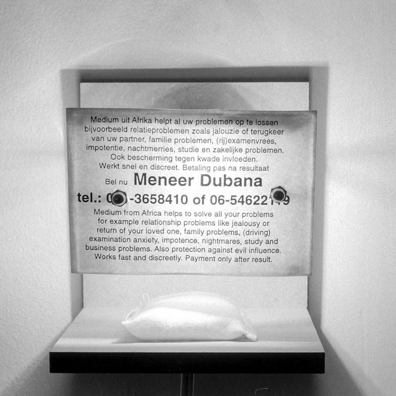 Dubana lamp - Moisture Eater Installation Tjook