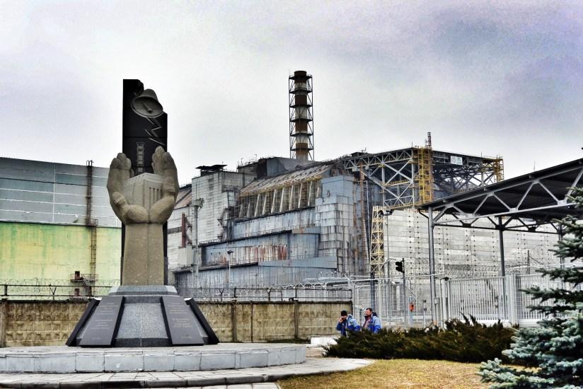 De ontplofte reactor