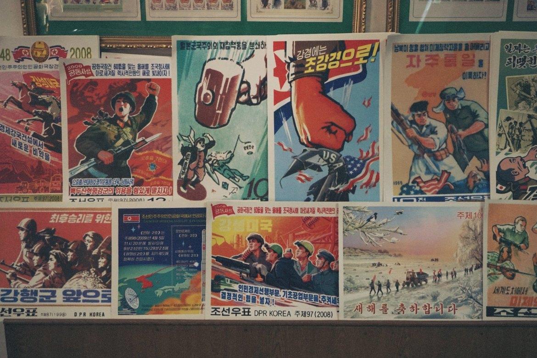 noord-korea propaganda