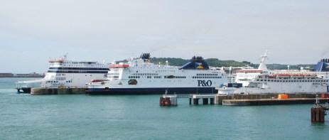 thumbnail_100 Dover - P&O Ferries - Spirit of France%2c Pride of Kent%2c Pride of Calais (04)