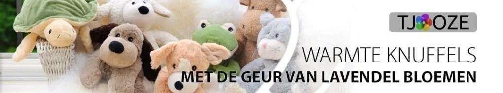 Warmies - Banner - Warmte en Koel knuffels - Tjooze