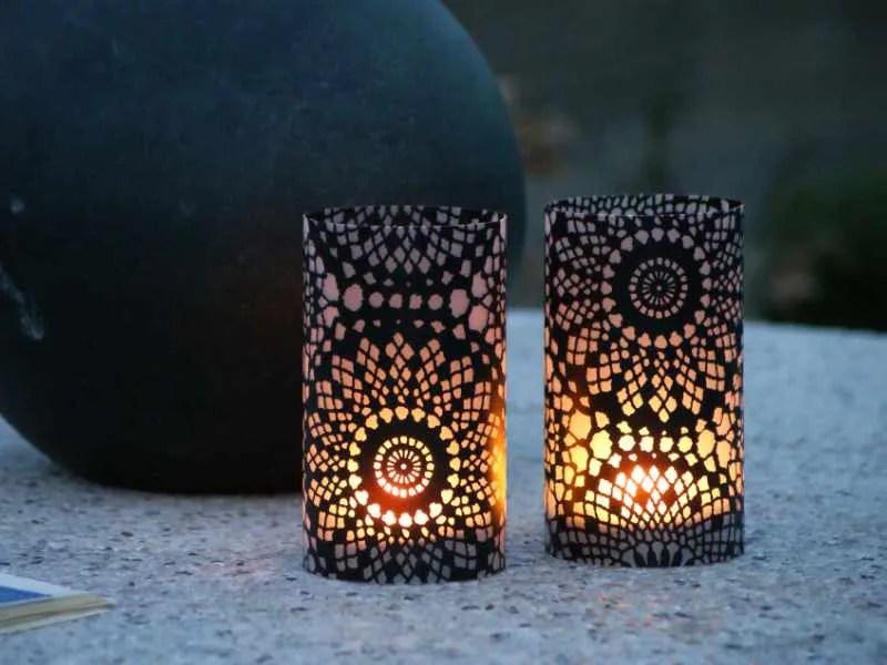Tjooze - Candlecover - Arabeske